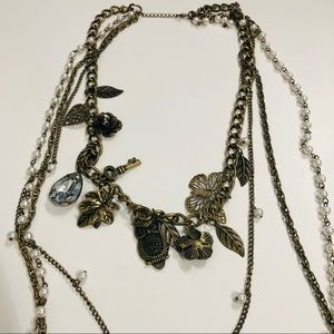 Jewelry - 🎉 B2GOF 4 layer with charms rustic necklace